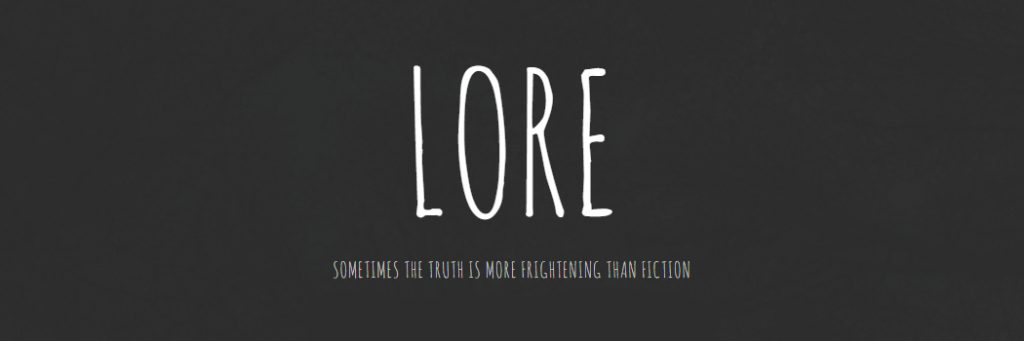 Horror Series Lore is Headed to Amazon