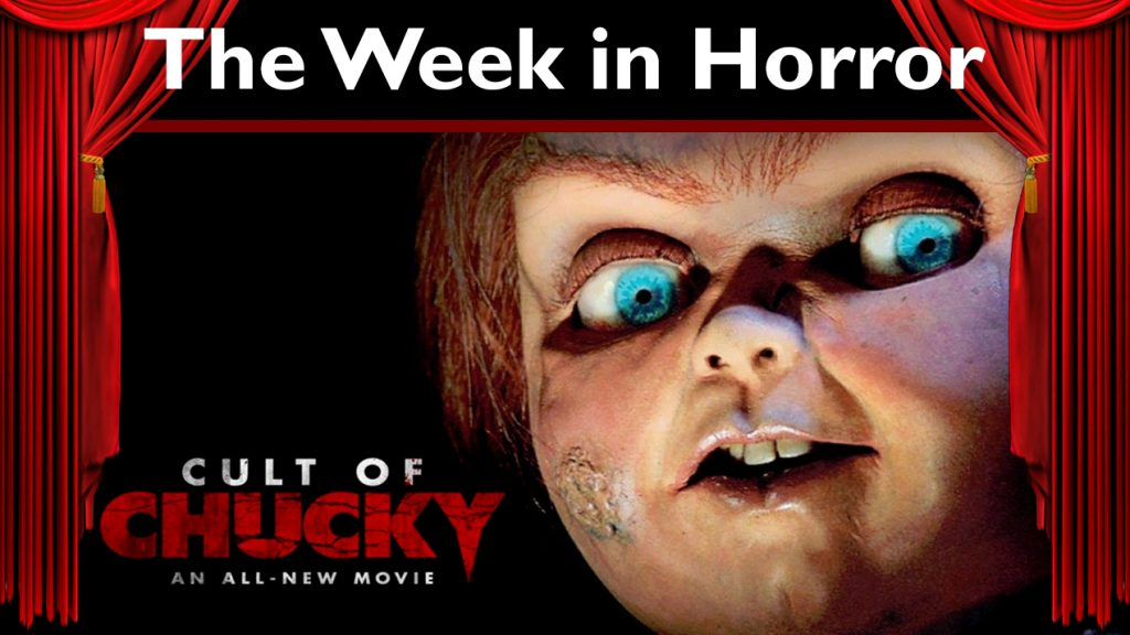 The Week in Horror – Cult of Chucky, Blair Witch, The Predator, and more!