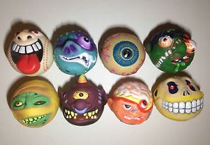 The original eight Madballs.